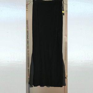 Cachet Full Length Mermaid Style Skirt Large